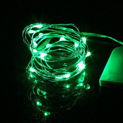 Festival Holiday LED Button Light String