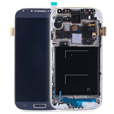 Replacement LCD Screen Frame Assembly + Touch Glass Digitizer Repair Tool Set for Samsung Galaxy S4 I9505I I9500 black ANDROID