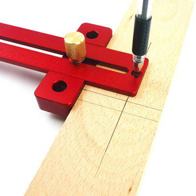 Woodworking Aluminum Alloy T-shaped Ruler for DIY