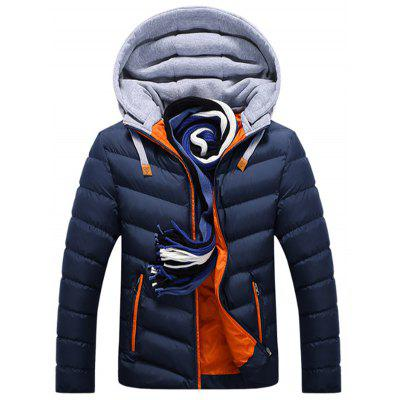 Gearbest Men's Cotton  Padded Down Jacket