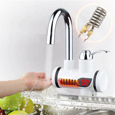 Electric Instant Heating Hot Cold Dual-use Digital Display Temperature Faucet only $25.99