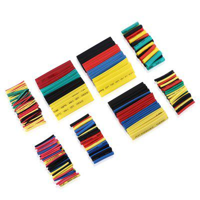 Gocomma 8 Specifications Colorful Polyolefin Heat Shrinkable Tube Cable 328pcs - MULTI-A