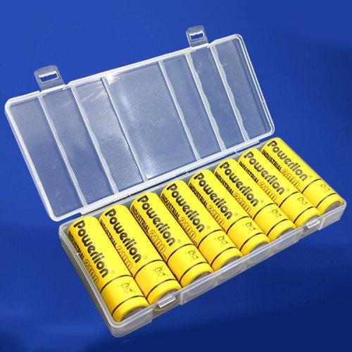 official photos 63f7f 7fc6f Multi-function Household Items Battery Storage Box Transparent 2pcs