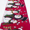 Christmas Decorations Cotton Embroidered Table Flags Creative European Coffee Tables Desktop - MULTI-B