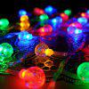 Christmas Decorations Light String 20 Lights - MULTI-A