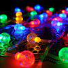 Christmas Decorations Light String 8 Lights - MULTI-A