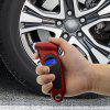 Mini Tire Pressure Gauge Digital Display Portable High Accuracy Auto Tester LCD Backlight Car Accessories - RED WINE