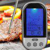 Digital Electronic Food Meat Thermometer BBQ Grill Temperature Probe Kitchen Cooking Tool with LCD Backlight Screen - GRAY