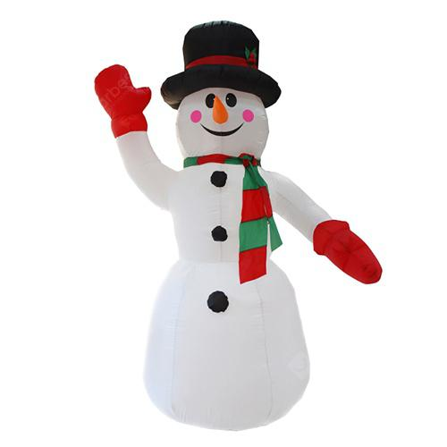 Christmas Garden Decoration Snowman LED Inflatable Model