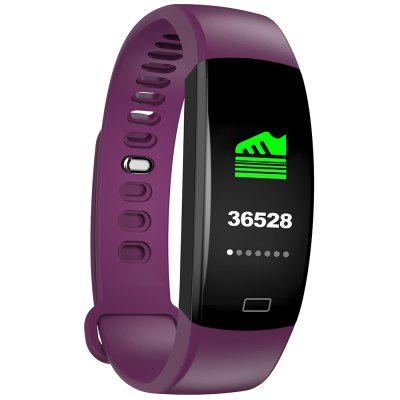 F64HR Smart Bracelet Heart Rate Sensing Color Screen Long Standby for IOS Android