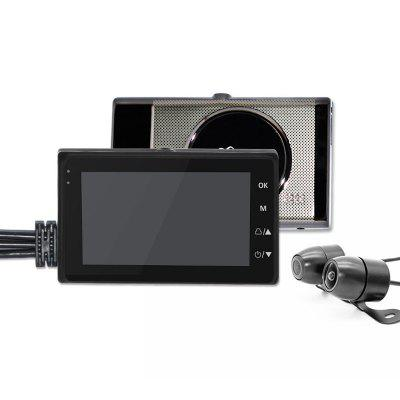 CAREUD RB28 Motorcycle Driving Recorder 3.0 Inch Mini HD Display  Screen