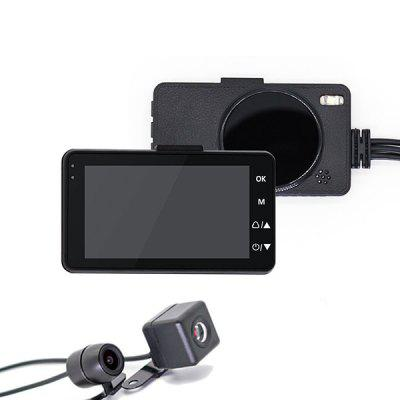 CAREUD RB27 Motorcycle Driving Recorder 3.0 Inch Mini HD Display Screen