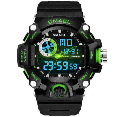 SMAEL 1385 Multifuncionais Outdoor Mountaineering LED Watch Com Caixa