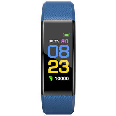 Smart Bracelet Sports Step Counter Waterproof Bluetooth Synchronous Heart Rate