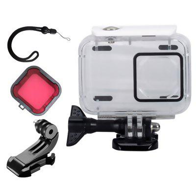 Waterproof Case Set Accessories for YI Lite Small Ant 4k 4k+