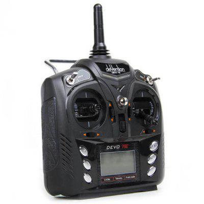 Walkera DEVO 7E 2.4G 7CH DSSS Radio Control Transmitter For RC Helicopter Airplane Model 1 And Model 2