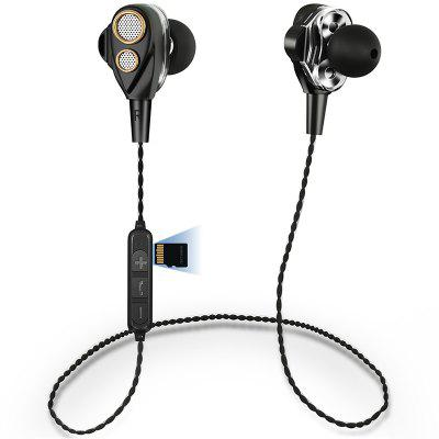K33 Dual Speaker Double Dynamics Tarjeta estéreo Bluetooth Auriculares Deportes Auriculares Bluetooth