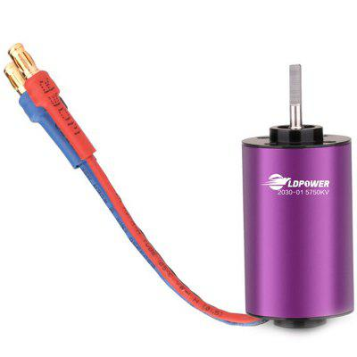 LDPOWER LD130 - 2030A 5750KV 1 - 2S 1 : 18 1 : 24 1 : 28 Car Model Motor
