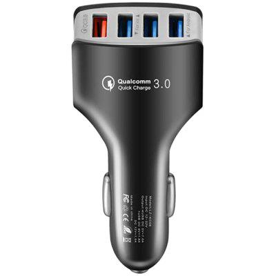 Multi-port 7A Fast Car Charger