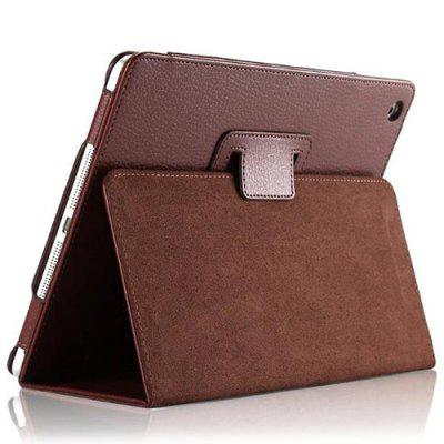 Tablets Hülle für Holster Two Fold Lychee Shell für iPad 9.7