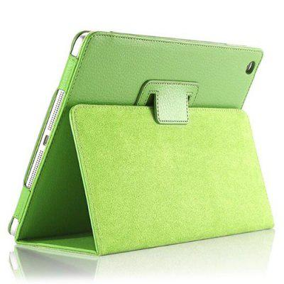 Tablets Case Cover Holster Two Fold Lychee Shell For iPad 9.7