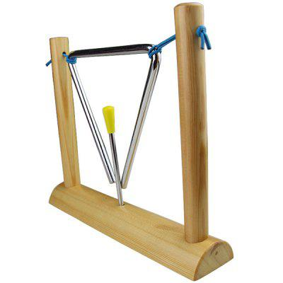 T6 Frame Triangle Bell Percussion Instrument