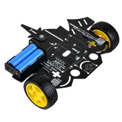 XiaoR _ GEEK Education Staminali Creator Smart Car Chassis Maker Kit fai da te per bambini