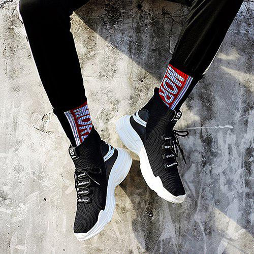 Gocomma Sports Knit High-top Running Shoes