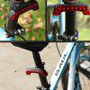USB Charging Bicycle Tail Light - LAVA RED