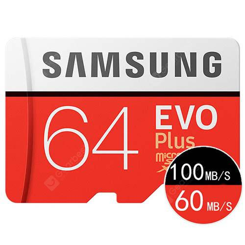 Samsung 64G 128G Mobile Phone Driving Recorder Sports Camera TF Memory Card - RED 64GB