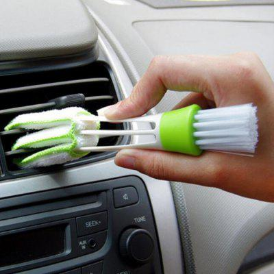 Double Head Cleaning Brush for Keyboard Car Air Conditioning Tool