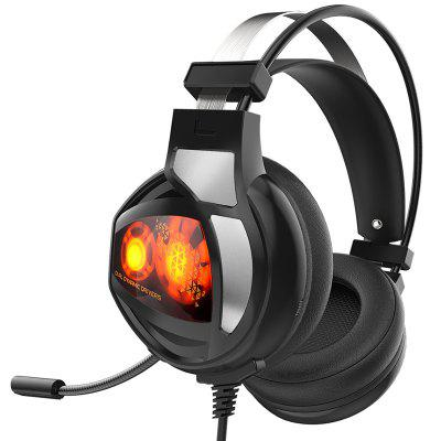 V9 Computer Stereo Gaming Headphones Best Casque Bass Deep Game Headset Earphone With Mic LED Light For PC Gamer