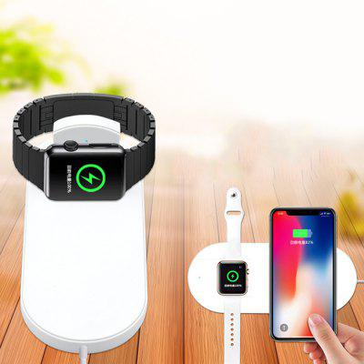2 in 1 Wireless Charger for iPhone XS / Airpower 1 / 2 / 3 / 4