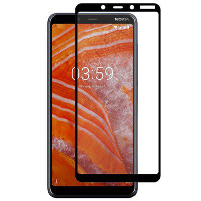 Hat-Prince Full-size 0.26mm 9H 2.5D Full-screen Tempered Glass Protective Film for Nokia 3.1 Plus