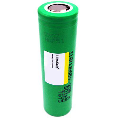 LiitoKala 25R 18650 2500mAh Alimentation Batterie 1 PC