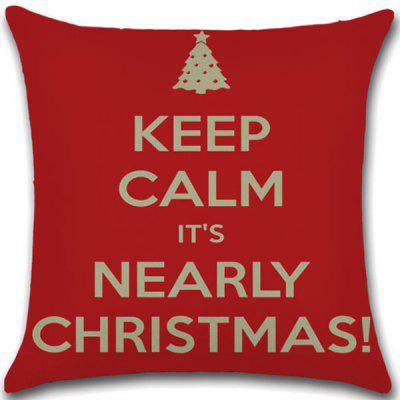 Christmas Theme Home Cushion Cover Pillow Case
