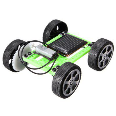Kit de brinquedos educativos solares DIY Gadget Car Mini enigma IQ