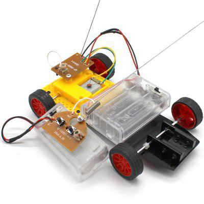 DIY Two-wheel Drive Steering Remote Control Kit