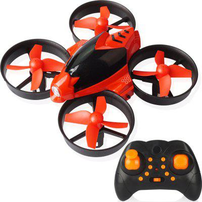 DIY Four-axis One-button Return Flight Take-off RC Airplane Toy Set