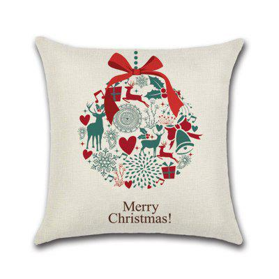 Christmas Decoration Series Cushion Cover Pillowcase (Without Pillow)