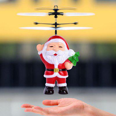 Christmas Santa Claus Suspension Helicopter Toy Gift voor kinderen