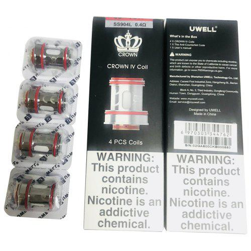 CROWN IV 4 Coil 4pcs