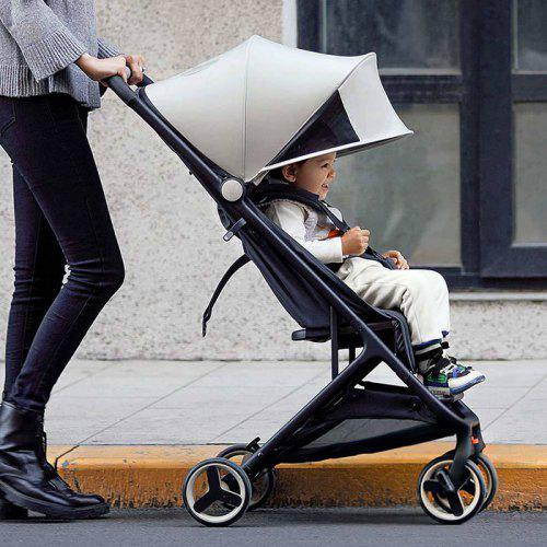 Gearbest Xiaomi MiTU Folding Stroller Multifunctional Trolley Case for Babies - PLATINUM