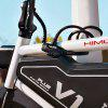 HIMO L150 Portable Folding Cable Lock Electric Bicycle Lockstitch from Xiaomi youpin - BLACK