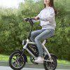 HIMO Electric Bicycle Booster Bike from Xiaomi youpin - ORANGE SALMON