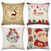 Christmas Decoration Series Cushion Cover Pillowcase (Without Pillow) - MULTI-B