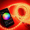 BRELONG 10m WiFi Smart 300-LED Colorful Strip Light for Decoration with Remote Control - BLACK