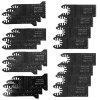 Multifunctional Saw Blade Electric Tool Accessory 20pcs - BLACK