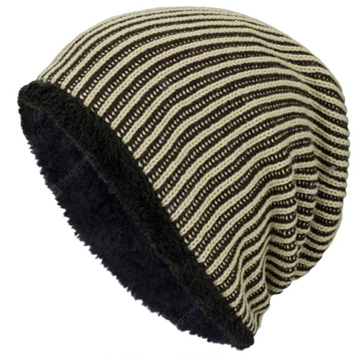 a86fd40e285 Knit Wool Winter Plus Velvet Warm Outdoor Male Cap - PHP360.01 Fast  Shipping