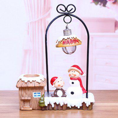 Christmas Gift Santa Snowman Christmas Bear Decoration Creative Night Light